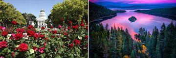 Sacramento State Capitol & Lake Tahoe