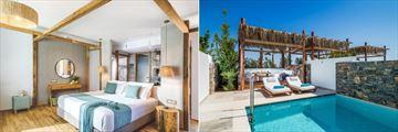 Premium Pool View and Island Villa Private Pool at Stella Island Luxury Resort & Spa