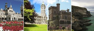 Beautiful Architecture in Dunedin, South Island