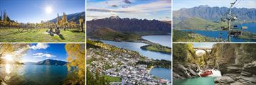 Beautiful scenery and activities in Queenstown & The stunning Lake Wakatipu