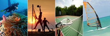Diving, Volleyball, Tennis and Watersport Activities at Sultan Sands
