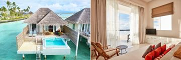 Dolphin Suite and Sultan Suite at Sun Aqua Iru Veli