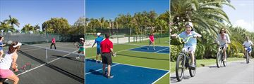 Sundial Beach Resort & Spa, Tennis Courts, Pickleball Courts and Resort Bicycles