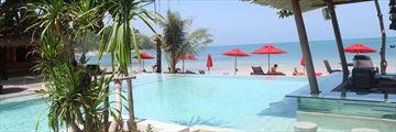 Anantara Rasananda Koh Phangan Villas, Swim-Up Pool Bar