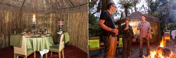 Te Waonui Forest Retreat, Forest Dining Experience - Forest Gazebo and Forest Dining Experience Guests