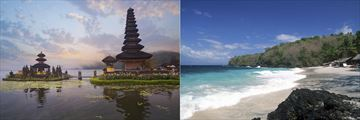 Temple and Beach, Bali