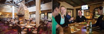 Tenaya Lodge at Yosemite, Sierra Restaurant and Jackalopes Bar