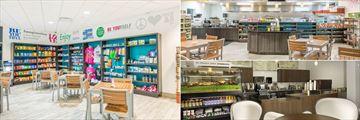 The Avanti Resort Marketplace, Cafe and Lobby Barista
