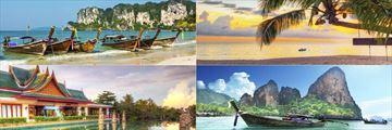 The beautiful landscapes of Khao Lak and Krabi