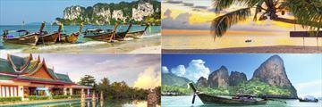 The beautiful landscapes of Khao Lak and Krabi