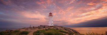 Beautiful Lighthouse in Peggy's Cove