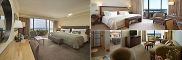 Twin Standard Room, Superior Room Sea View and Junior Suite at The Cliff Bay