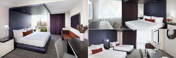 The Donovan - a Kimpton Hotel, City View King Executive, King Deluxe and Double-Double Executive