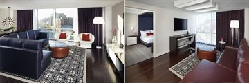 Presidential Suite and Premier Suite at The Donovan - a Kimpton Hotel