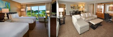Double-Double Room Pool View and Suite Living and Dining Room at The Grand Orlando Resort at Celebration