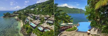 The Hilton Seychelles Northolme Resort & Spa, Aerial View of Villas and Pool
