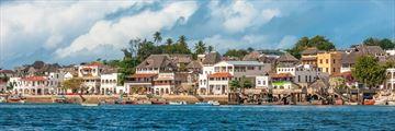 The Lamu coastline