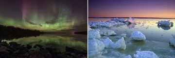 The Northern Lights & Manitoba Landscapes