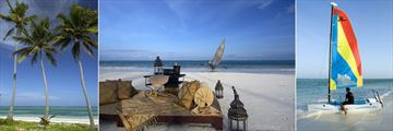The Palms, Beach, Sundowner on the Beach and Sailing