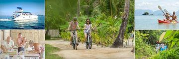 The Paradise Koh Yao, Day Trips, Biking, Kayaking, Trekking and Batik Painting
