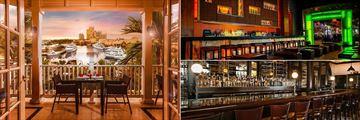 The Reef Atlantis, Cafe Martinique, Nobu and Seafire Steakhouse