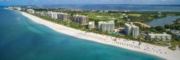 The Resort at Longboat Key Club, Aerial Resort View