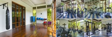 The Slate, Phuket, Fitness Studio and Yoga Hall