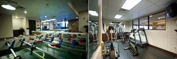 The Thompson Hotel, Kamloops, Lounge - Games Room and Fitness Room
