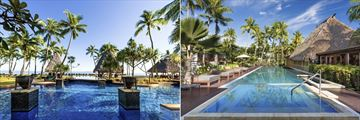 Main Pool, Outdoor Lap Pool and Deck at The Westin Denarau Island Resort & Spa