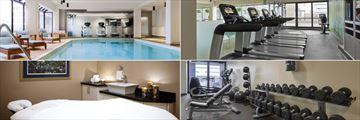 The Westin Edmonton, Pool, Fitness Studio and Spa Treatment Room