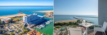 Aerial views of Tivoli Marina Vilamoura