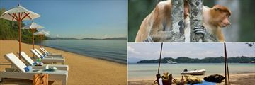 Gaya Island Resort views