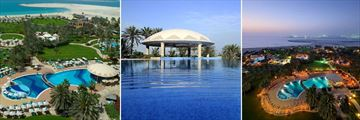 Le Royal Meridien pools