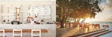 LUX South Ari Atoll, Cafe Lux and Allegria