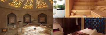 Spa facilities at the Ritz Carlton Abu Dhabi