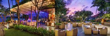 The Laguna Bali Resort & Spa, Kul Kul Bar and Cascade Lounge