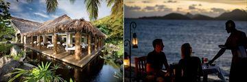 Tokoriki Island Resort, Dining Venues