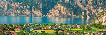 Mountain views from Torbole, Lake Garda
