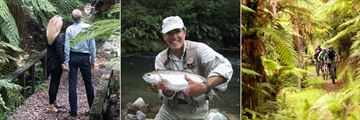 Treetops Lodge & Estate, Bridal Veil Waterfall Walk, Trout Fishing and Cycling