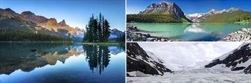 Jasper, Lake Louise & Columbia Icefield