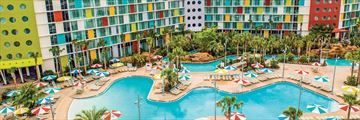 Universal's Cabana Bay Beach Resort, Exterior