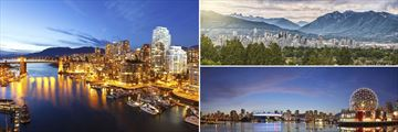 Vancouver cityscapes, British Columbia