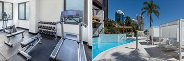 Vibe Hotel Gold Coast, Gym and Pool