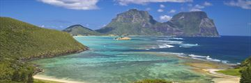View of Lord Howe Island