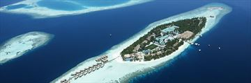 Vilamendhoo Island Resort & Spa, Aerial View