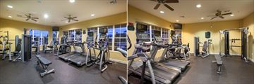 Fitness Centre at Vista Cay Resort