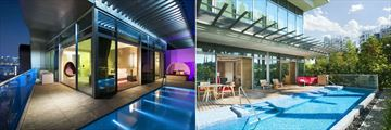 W Singapore - Sentosa Cove, Fantastic Suite Plunge Pool and Balcony and Wow Suite Exterior