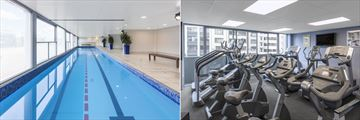 Waldorf Stadium Apartments, Indoor Pool and Fitness Centre