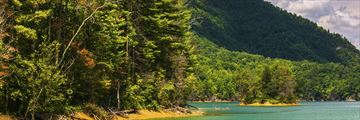 Watauga Lake in Cherokee National Forest, Tennessee