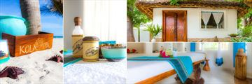 Kola Spa at WaterLovers Beach Resort, Diani Beach